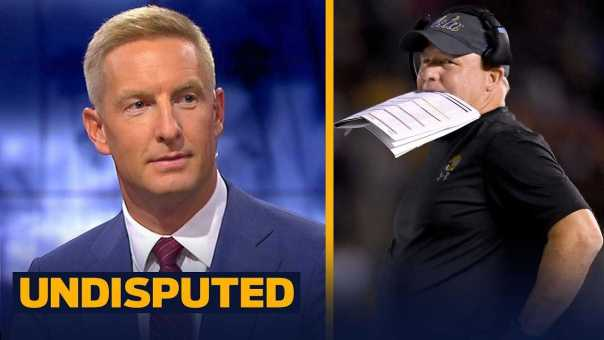 Joel Klatt reacts to UCLA QB's father ripping Chip Kelly   CFB   UNDISPUTED