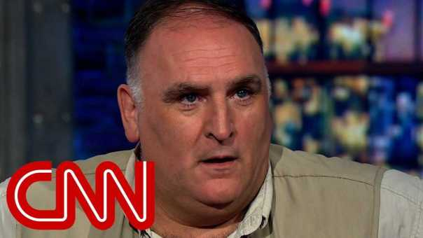 José Andrés: We reacted to Carolinas, not Puerto Rico
