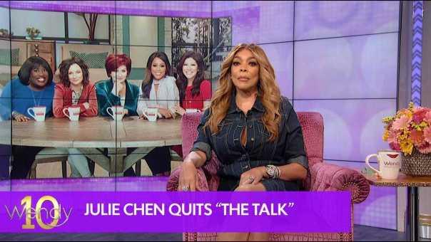 "Julie Chen Quits ""The Talk"""