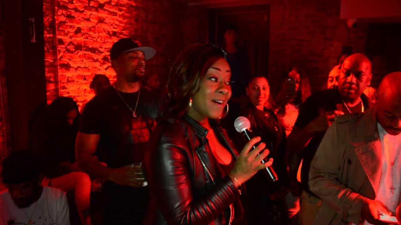 Kandi Burruss Ask  Leandria Johnson To Sing Happy Birthday