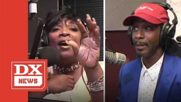 Katt Williams Roasts Wanda Smith On Her Radio Show And Her Husband Pulls A Gun On Him Afterwards