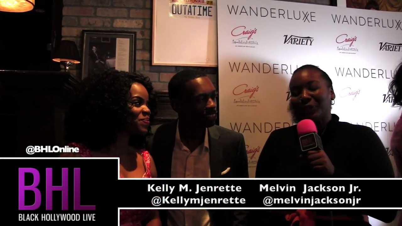Kelly M. Jenrette and Melvin Jackson Jr.   Wanderluxxe Emmy Nominee Diversity Luncheon