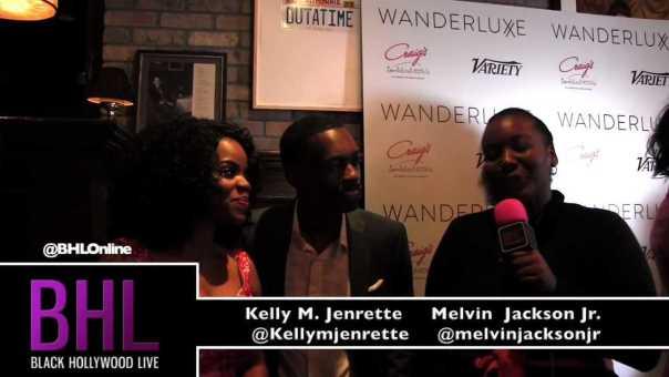 Kelly M. Jenrette and Melvin Jackson Jr.    |  Wanderluxxe Emmy Nominee Diversity Luncheon