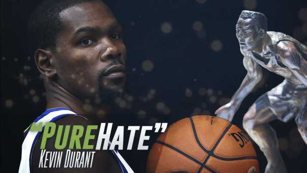 """Kevin Durant: I won't win DPOY Because of """"PURE HATE!"""""""