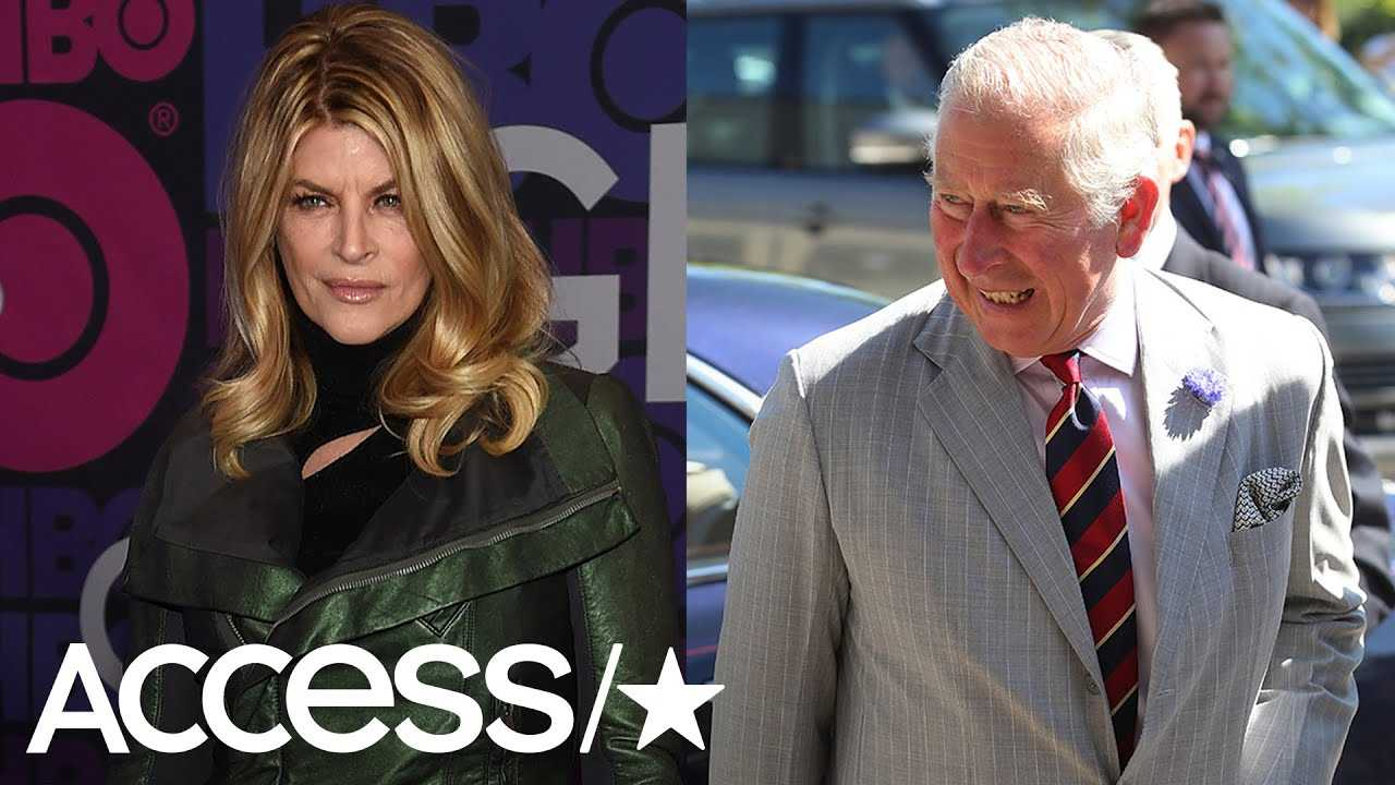 Kirstie Alley Reveals She Once Had 'Snacks' With Prince Charles At Courtney Love's House!   Access