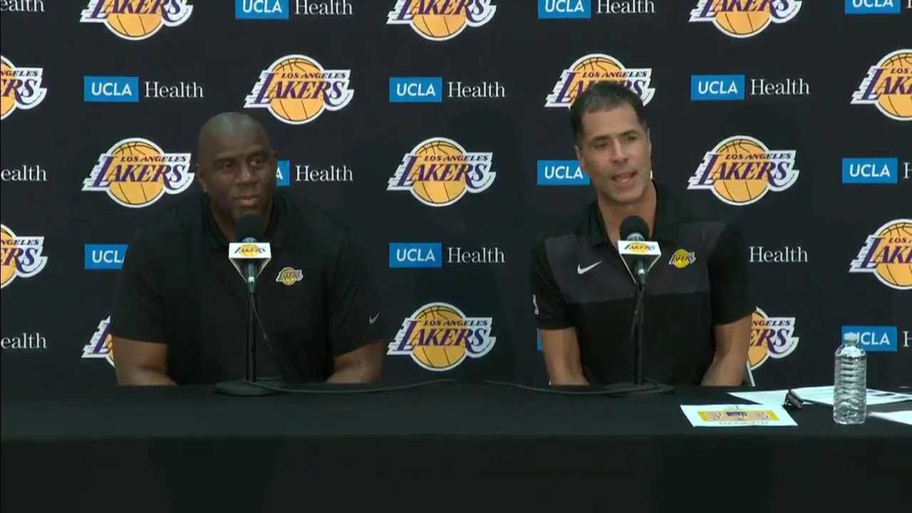 Lakers GM Rob Pelinka shares what he has learned about LeBron James