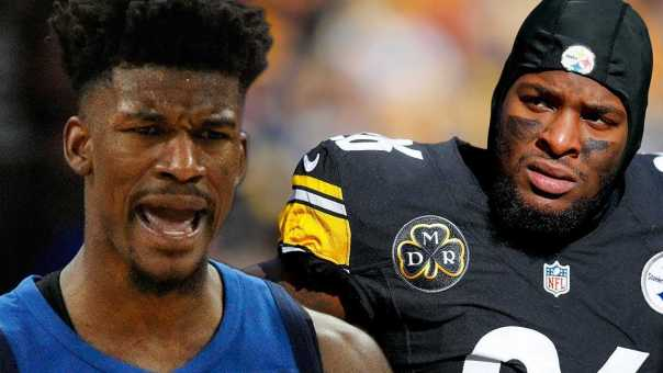 Le'Veon Bell To FAKE Injury To LEAVE Steelers? Jimmy Butler BEGS To be TRADED to Miami!