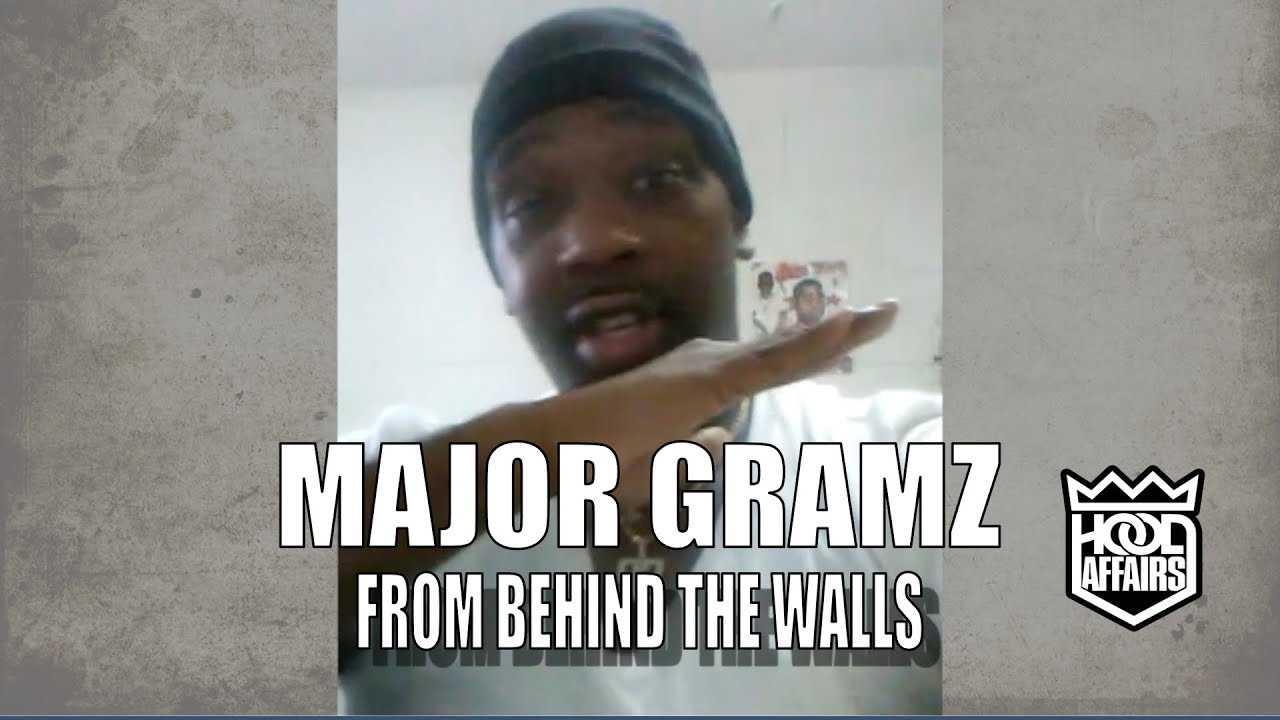 MAJOR GRAMZ - FAKE LOVE AND MOTIVATION : BEHIND PRISON WALLS