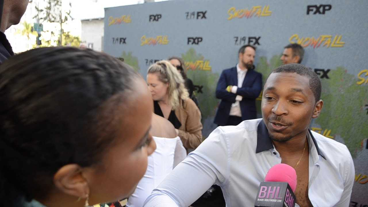 Malcolm Mays On Being a Ladies' Man On Season 2 of FX's Snowfall