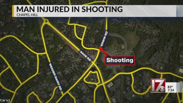 Man shot several times in Chapel Hill, police say
