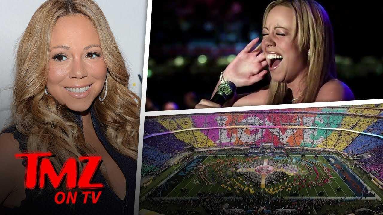Mariah Carey Wants To Do The Super Bowl! | TMZ TV