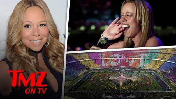 Mariah Carey Wants To Do The Super Bowl!   TMZ TV