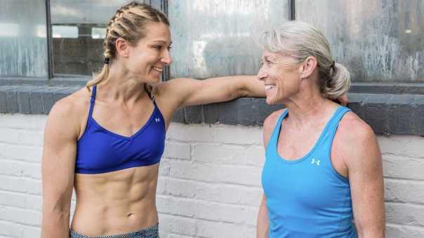 Meet Jessie Graff's Mom, the Oldest Female American Ninja Warrior   Iris