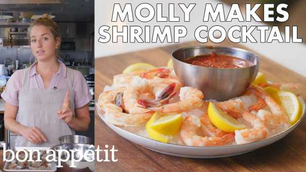 Molly Makes Classic Shrimp Cocktail From The Test Kitchen