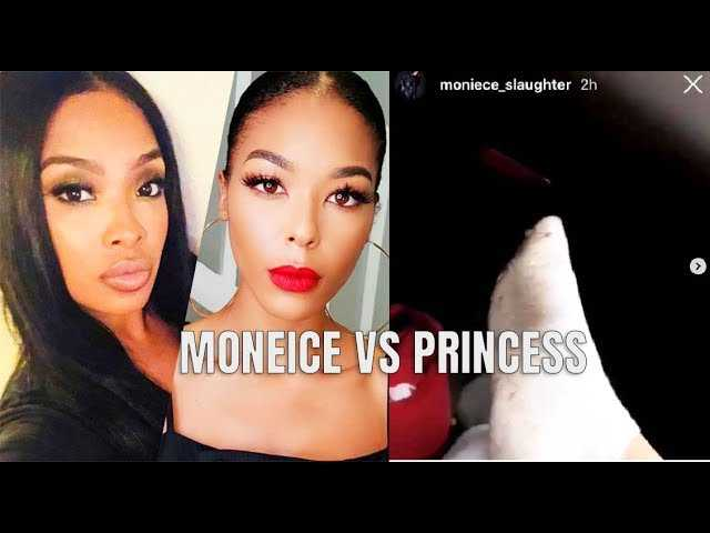 Moneice Files A Police Report After Princess Throws A Rock At Her While Filming #LHHH