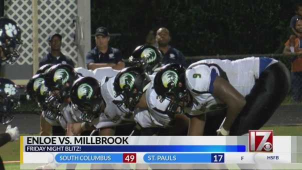 Moore scores twice as Enloe holds on against Millbrook