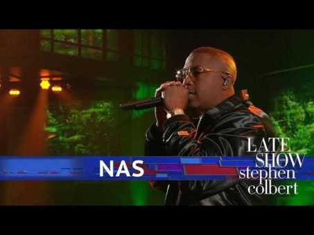Nas Performs 'Adam And Eve' live on The Late Show with Stephen Colbert [Live Performance]