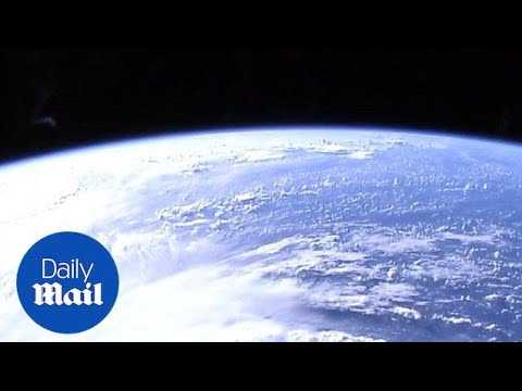 NASA cameras capture Hurricane Florence from space