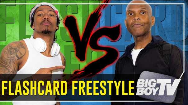 Nick Cannon's Flashcard Freestyle Gets Out of Control