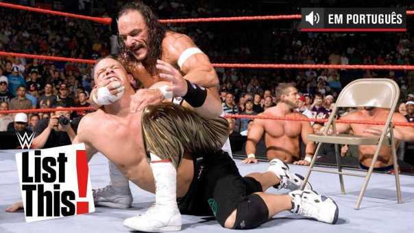 Os 5 combates mais raros de John Cena: WWE List This! (PORTUGUES)