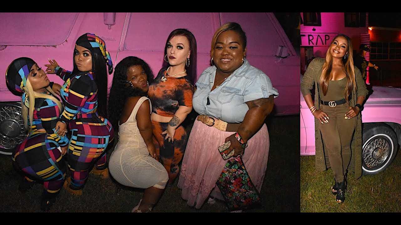 Phaedra Parks, & Lil Women Atlanta CAST Talks 2 Chainz's Halloween Pink Trap House