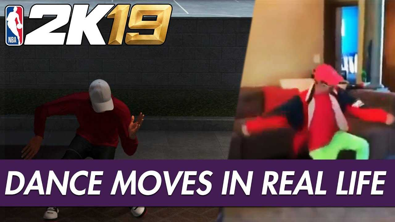 REAL LIFE Dance Moves In NBA 2K19 Feat. Shaku Shaku, Shoot, DanRue, SheLovesMeechie & More!