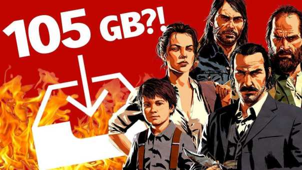 Red Dead 2 Is The Biggest Console Game Yet, Literally – Up at Noon