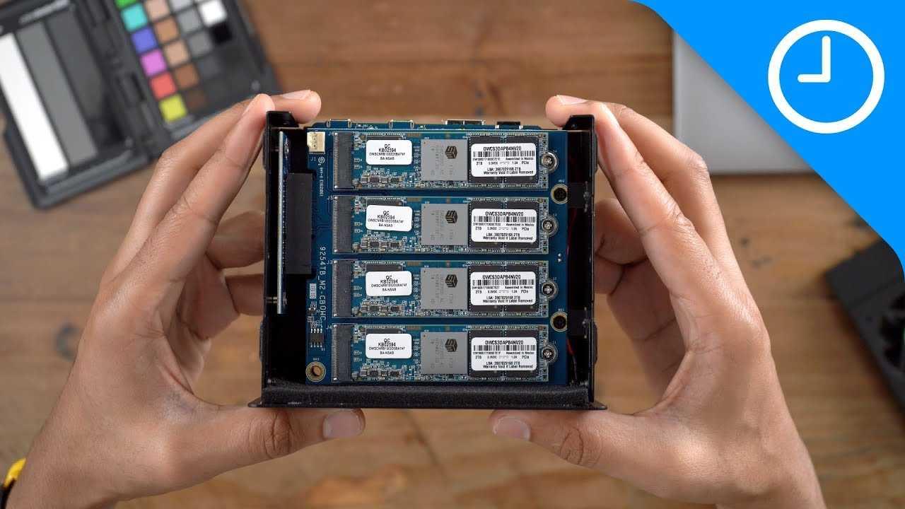 Review: OWC Express 4M2 SSD enclosure - 8TB!