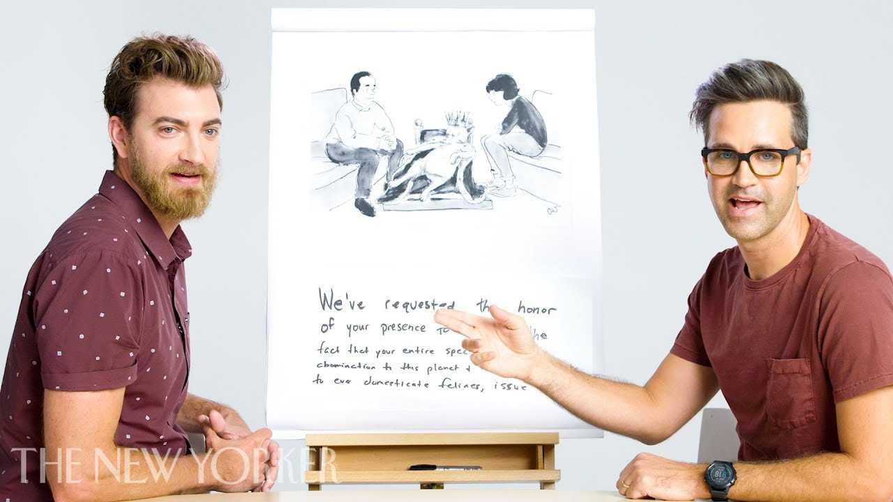 Rhett & Link Enter The New Yorker Cartoon Caption Contest | The New Yorker