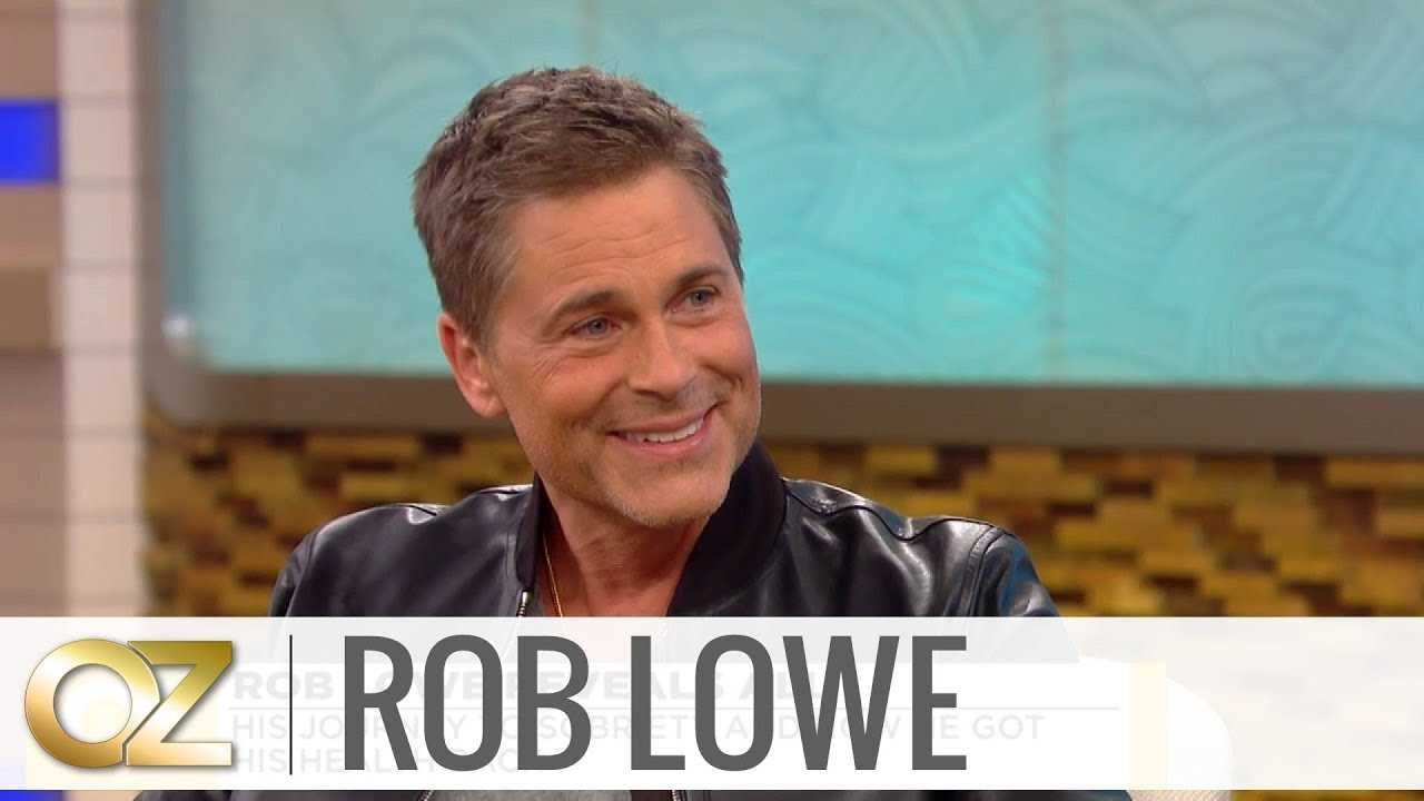 Rob Lowe Tells Dr. Oz What Made Him Reach Out for Help