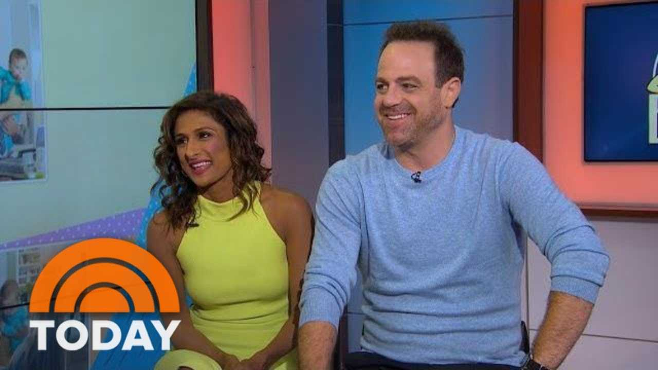 Sarayu Blue And Paul Adelstein Talk New Show, 'I Feed Bad' | TODAY