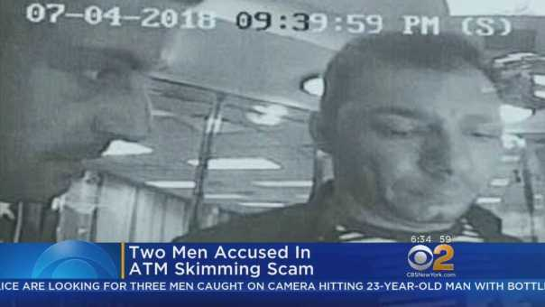 Search For ATM Skimming Suspects