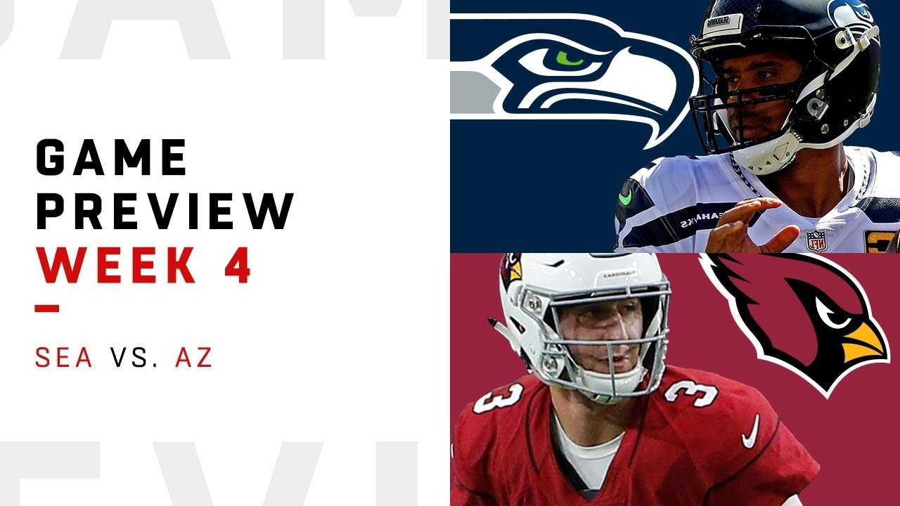 Seattle Seahawks vs. Arizona Cardinals | Week 4 Game Preview | NFL Film Review