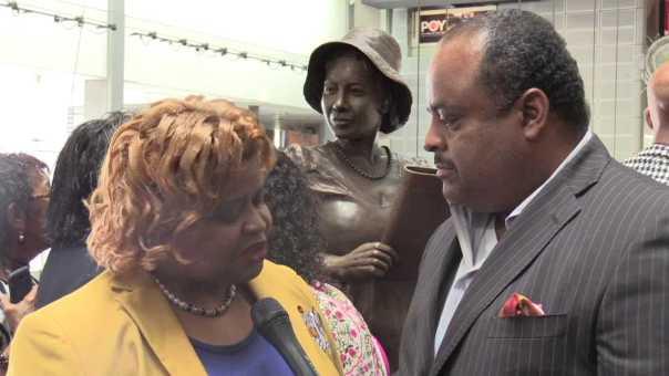 Sigma Gamma Rho president proud of soror and pioneering Black journalist  Alice Dunnigan
