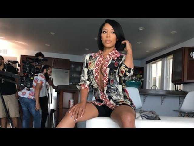 Singer K. Michelle of Love & Hip Hop Hollywood