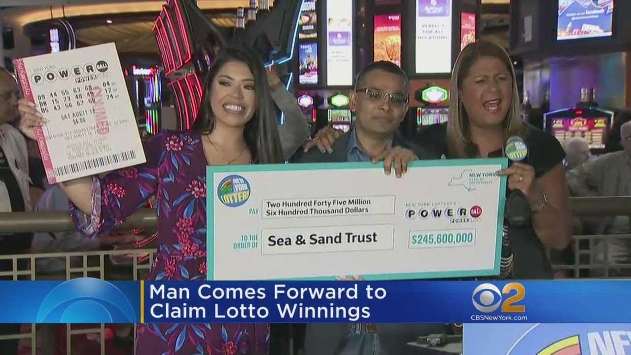 Staten Island Man Claims $245.6 Million Powerball Prize