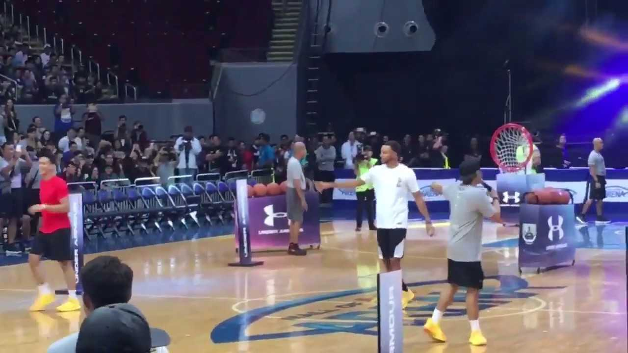 Stephen Curry Loses Skills Competition On His Asia Tour