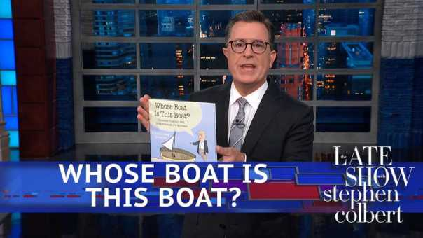Stephen Publishes REAL BOOK 'Whose Boat Is This Boat?'