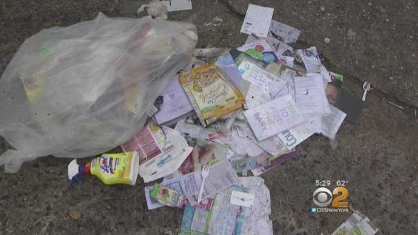 Suspects Dumping Trash Illegally In Front Of Bronx School