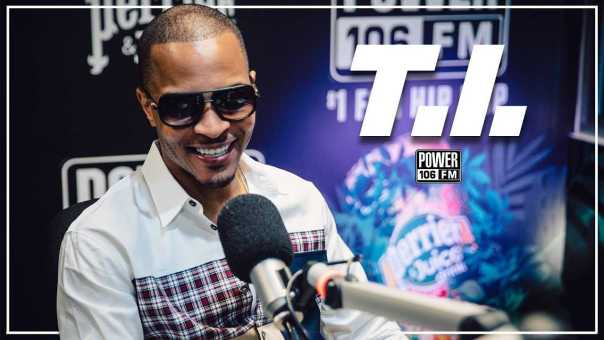 "T.I. talks Upcoming Album ""Dimetrap"" + Kanye West's MAGA Kaepernick Fit"