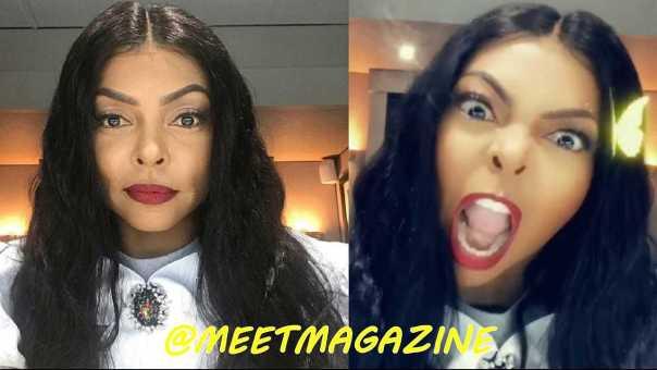 Taraji P Henson Michael Jackson style makeover! New makeup look for #Empire Season 6 star!