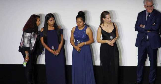 The Cast Of Alfonso Cuaron S Roma Q A At Tiff 2018 Getmybuzzup