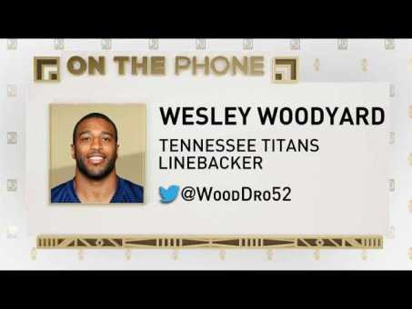 The Jim Rome Show: Wesley Woodyard talks roughing the passer penalty