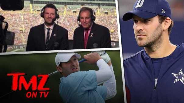 Tony Romo Wants To Return To The NFL?!   TMZ TV