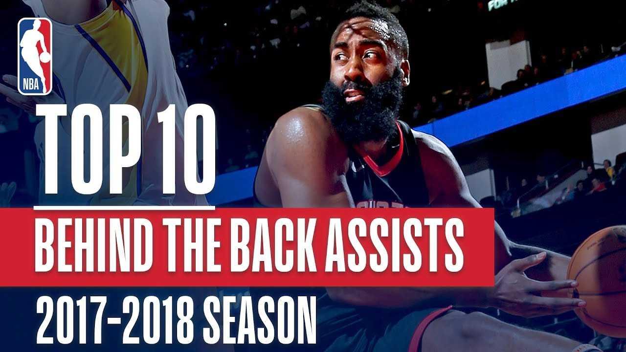Top 10 Behind The Back Assists: 2018 NBA Season