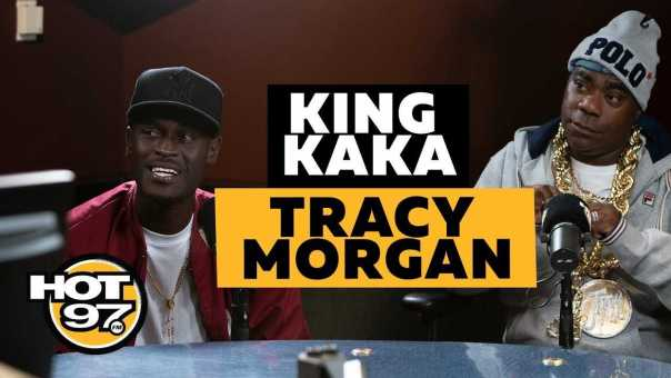 Tracy Morgan On Tiffany Haddish, Asks Ebro To Be Kind To Tekashi 6ix9ine + Introduces King Kaka