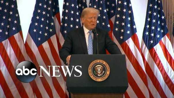 Trump calls accusations against Kavanaugh a 'con job'