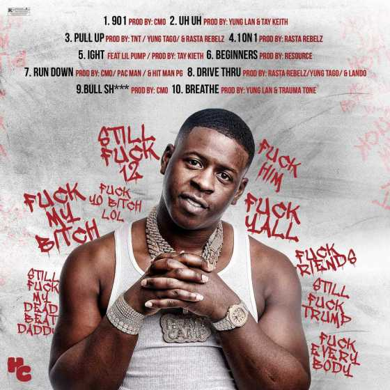 "BLAC YOUNGSTA DROPS FU*K EVERYBODY 2 MIXTAPE WITH ""UH UH"" VISUAL AND EARNS HIMSELF A SPOT ON THE APPLE MUSIC HIP HOP CHARTS"