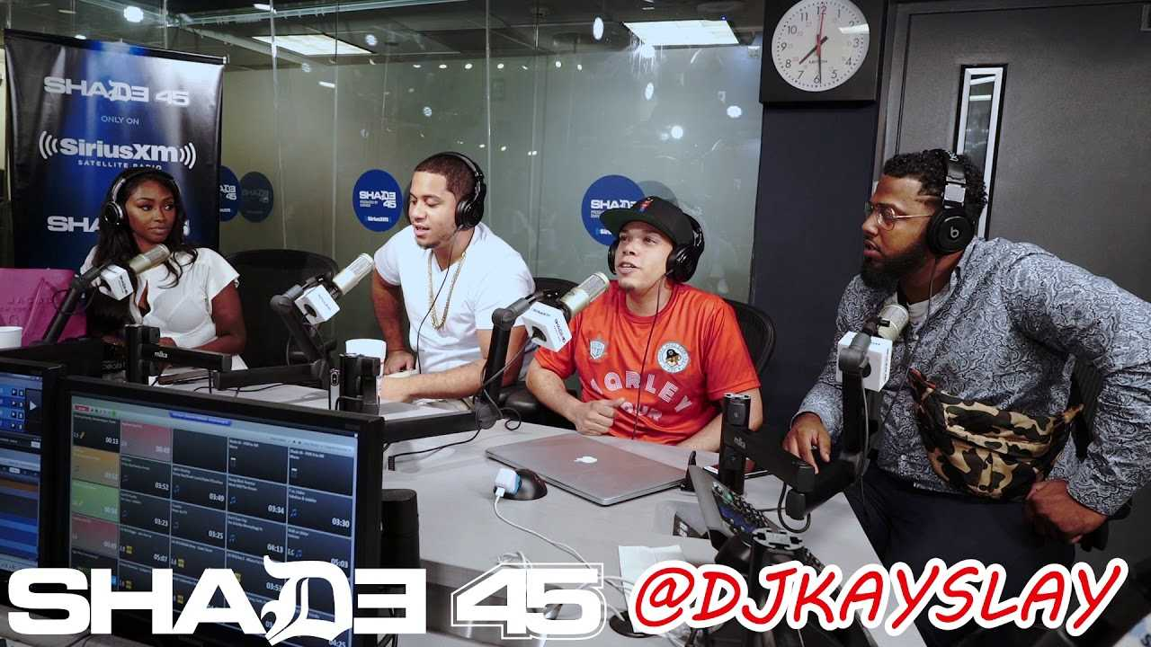 Urban Talent Records interview with Dj Kayslay at Sirius XM