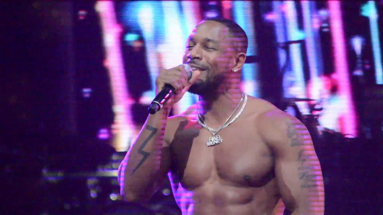 "Vocals KING : R&B Singer - TANK ""Please Don't Go"" - ""When We"" Live"
